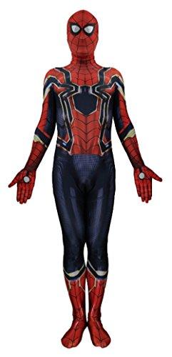 Lycra Spandex Unisex Spider - Jolly Costumes Lycra Spandex Zentai Unisex Halloween Cosplay Costumes 3D Style Audlt/Kids