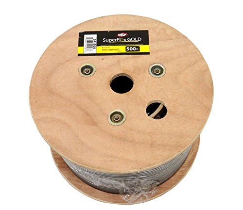 Elite Core SFI-500 SuperFlex GOLD and Bulk Spool Premium Instrument Cable 500-Feet by Elite Core