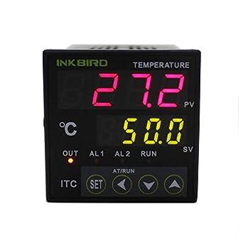 Inkbird ITC-100VH digitale PID regolatore di temperatura Sensore Riscaldatore 220V pt100