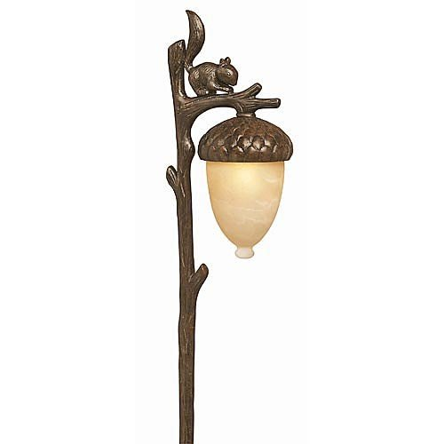 Hinkley Squirrel and Acorn Landscape - Path Squirrel Landscape Light