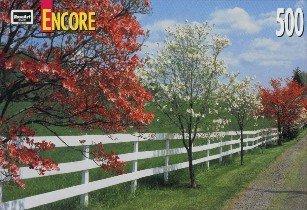 Encore 500 Piece Jigsaw Puzzle Dogwood & Fence by Kodacolore