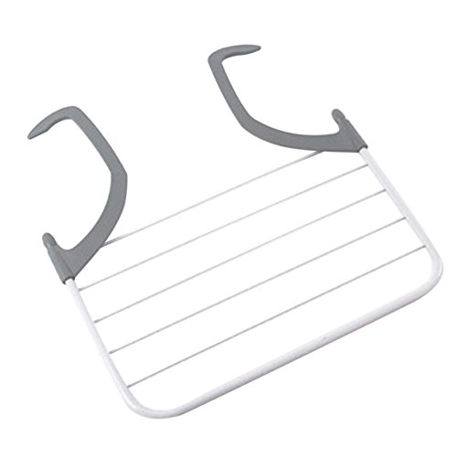 difftyle Multifunction Folding Clothes Drying Rack Indoor Ou