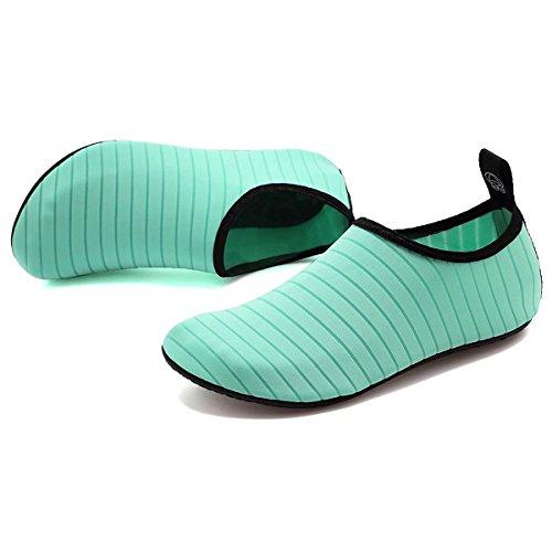 Surfschuhe Damen für Schuhe Schuhe Strandschuhe Kinder Wasserschuhe Badeschuhe Junge Grün Schuhe Barefoot Aqua Sommer Schwimmschuhe BOLOG Sportschuhe Schnorcheln Barfuß Mädchen q1zTAT