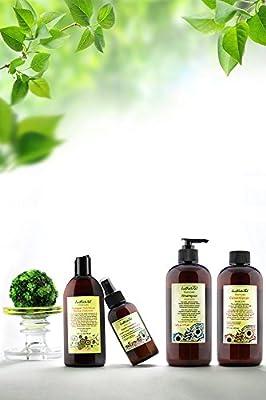 Women's Hair Nutritive Kit | Hair Loss Shampoo | Hair Loss Conditioner | Vinegar Nutritive Rinse Cleanser | Adult Women's Hair Loss Treatment | The Best Kit For Women's Hair Loss