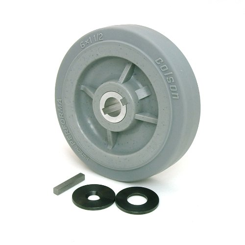 6-inch Drive Wheels with 3/4-inch Keyed Hubs by BattleKits