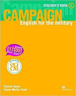 Book Campaign 3: Teacher's Book