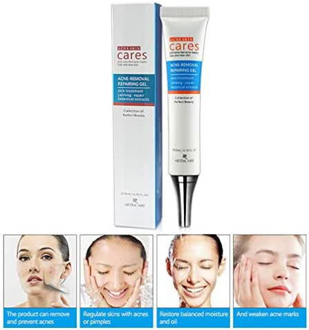 Acne Treatment Cream, Pimple Treatment, Acne Remover Cream, Face Repair Cream, Acne Spots Treatment Cream For Acne Fighting Breakouts Spots Cystic Acne, Oil Balance with Natural Herbal Formula 20ml