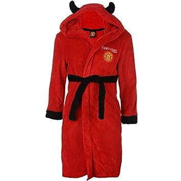 Official Manchester United Man Utd FC Red Devil Mascot Hooded Plush ...