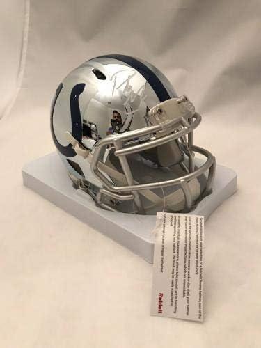 Pat Mcafee Autographed Signed Indianapolis Colts Mini Helmet W//PSA//DNA COA