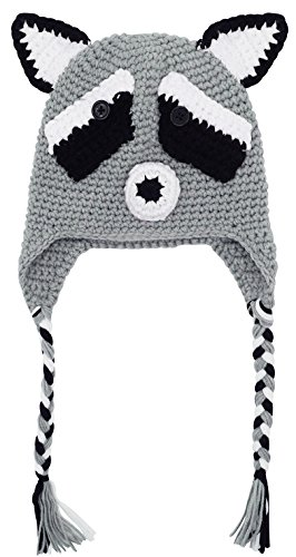 [Bellady Baby Infant Cute Crochet Knit Cap Infant Toddler Earflap Hat Photo Prop Costume,Fox] (Fox Hat Costume)