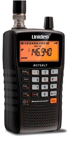 Uniden Bearcat BC75XLT Portable Compact Handheld Scanner (2-Pack)