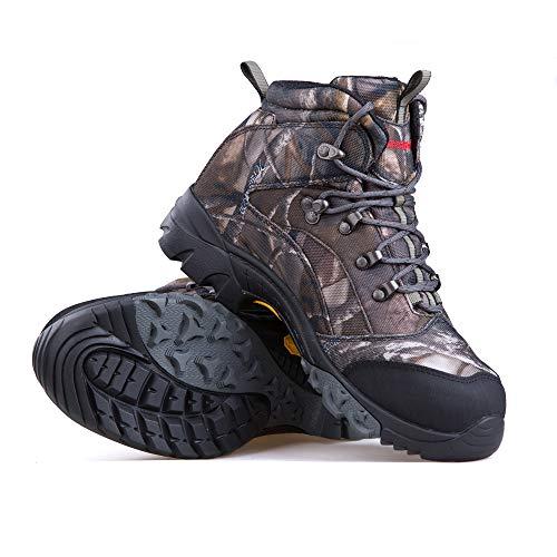 Treasu-LQ Chaussures de randonnée et de Trekking Montantes en Plein air Unisexes Chaussures de Chasse imperméables… 7