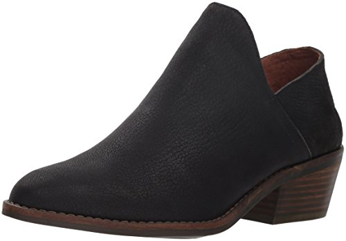 Lucky Brand Women's Fausst Ankle Boot, Black, 9 Medium US