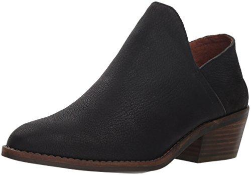 Lucky Brand Women's Fausst Ankle Boot, Black, 6 Medium US