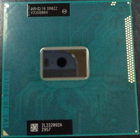 (Cailiaoxindong Pentium CPU Processor Dual-Core Mobile chip SR0ZZ 2030M 2030m Official Version rPGA988B Socket G2 2.5GHz)