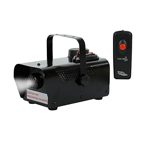 Halloween Thick, Water-Based 6 in. 400-Watt Indoor Fog Machine with Remote Control for Spooky and Hunted Effect