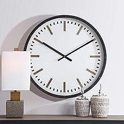 AR Lighting Fleming Large Wall Clock