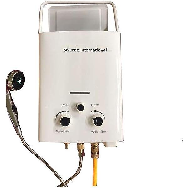 Calentador de agua, caldera de gas, portátil para ducha de ...