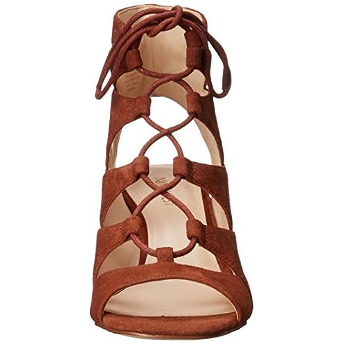 Sandali Con Tacco In Pelle Scamosciata Takeitup Da Donna Cognac 7 5 M Us