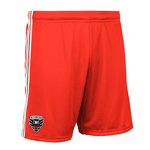 (MLS DC United Men's Replica Shorts, X-Large, Black)