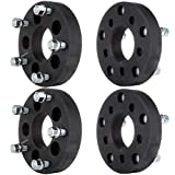 "ECCPP 4x 5 lug 1.25"" 5x4.5 to 5x5.5 Wheel Spacers Adapters 73mm with 1/2"" Studs"