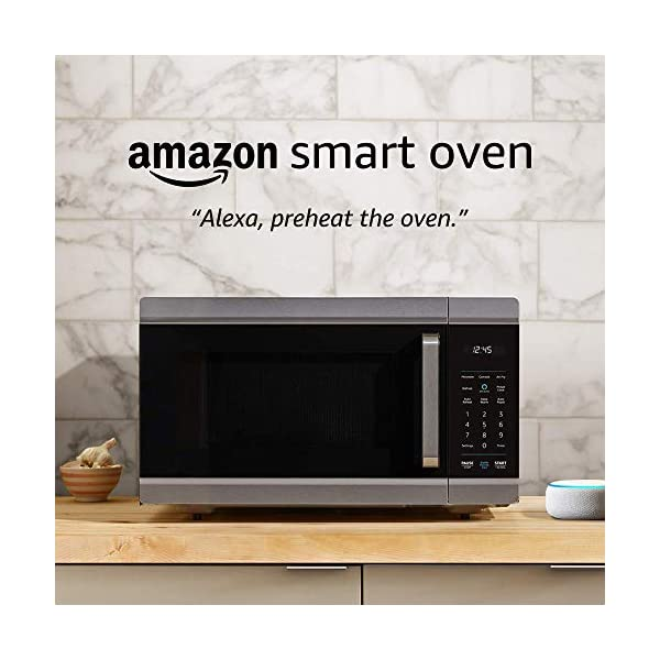 Amazon Smart Oven, a Certified for Humans device – plus Echo Dot 1