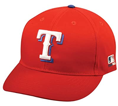 MLB YOUTH Texas RANGERS Alternate ALL RED Hat Cap Adjustable Velcro TWILL