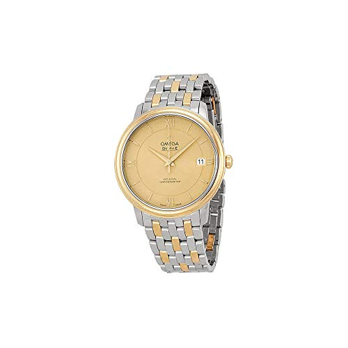Omega DeVille Prestige Steel and Yellow Gold Mens Watch 42420372008001