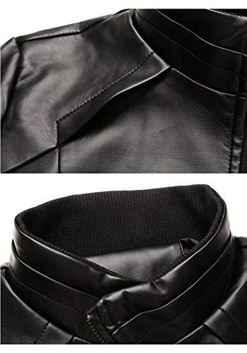 Da Libero Uomo Giacca Nero Cappotto Vintage Tempo Il Per Sportiva dYRTqZfR