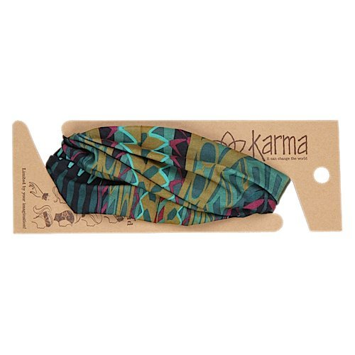 Karma Gifts Kenya Headband Turquoise product image