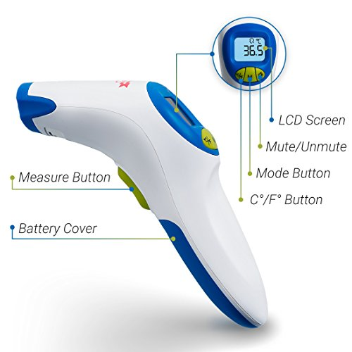 Babynow Clinical Grade Digital Baby Forehead Thermometer Medical Grade FDA Approved