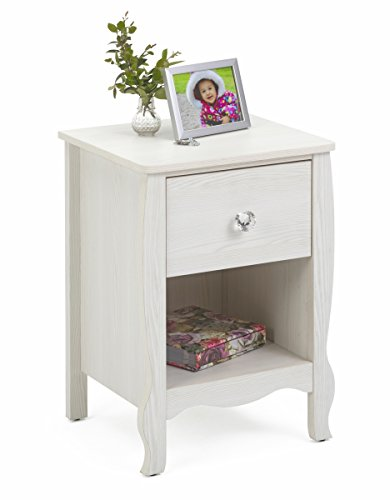 4D Concepts Nightstand in Stone White Oak by 4D Concepts (Image #1)