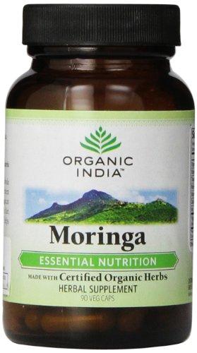 Organic India Moringa Capsules 90 Count