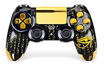Amazon.com: Egypt Gold PS4 PRO Rapid Fire - Controlador ...