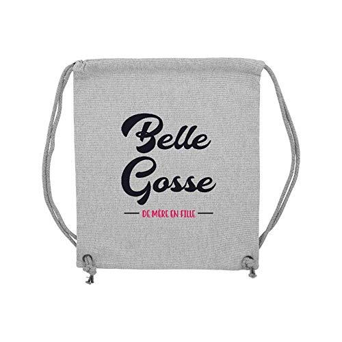gym Belle Lmk Gosse Coton Gris Sac Lookmykase 5w1Iqxp41n