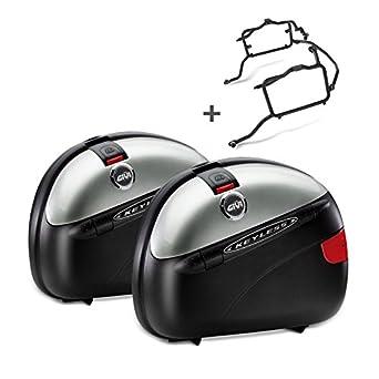 Juego de Maletas Laterales Set Honda Crosstourer 12-16 Givi Monokey E41N 41 L, Color Negro: Amazon.es: Juguetes y juegos