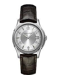 Hamilton Men's H24615331 Ventura XXL Elvis Anniversary Collection Black Fixed Gunmetal PVD Watch