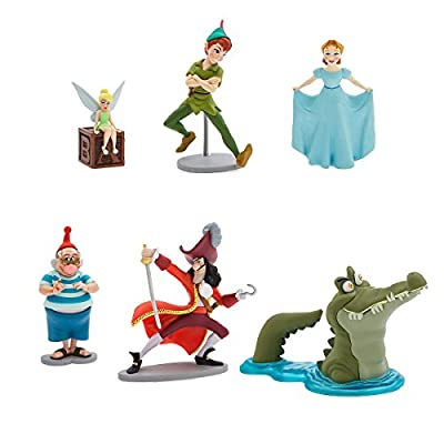 Brand Disney Disney Peter Pan 65th Anniversary Pvc Figurine 6 Figure Set Play set