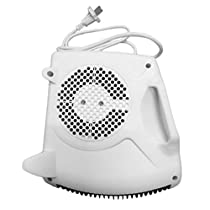 1000W-2000W Portable Room Floor Upright Flat Electric Fan Heater Hot & Cold UH