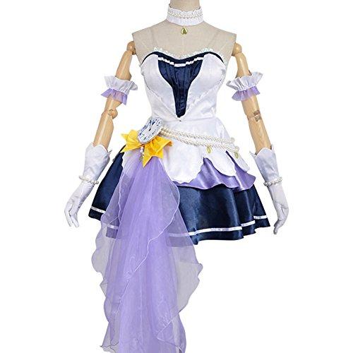 (The Idolmaster 2 Cinderella Girls Mio Honda Party Short Dress Costume Female)