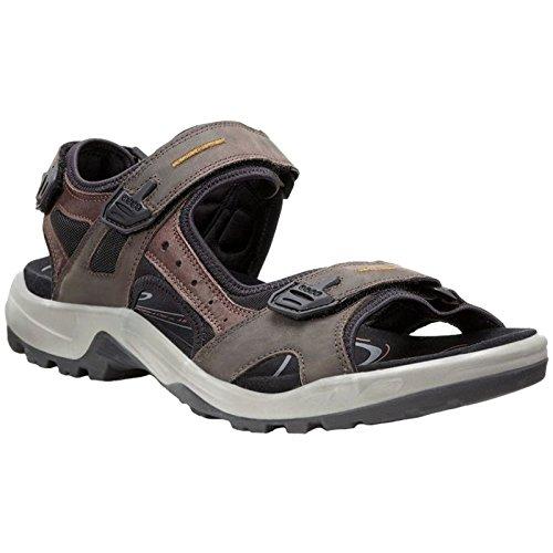 ECCO Men's Yucatan outdoor offroad hiking sandal, Espresso/Cocoa Brown/Black, 44 EU (US Men's 10-10.5 M) (Pictures Of Austin M)