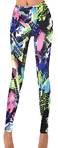 KDHJJOLY Comfortable Women'S Slim Print Leggings Pant Stretch Tights As pictureUS Medium Effective - In Stores Killeen