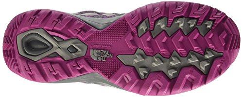 The North Face W Litewave Explore Zapatillas de senderismo, Mujer Gris (Zinc Grey / Fuschia Pink)