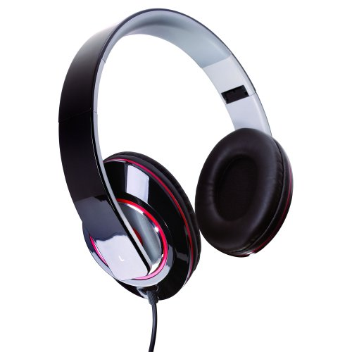 Sunbeam SBF-2012 Stereo Bass Foldable Headphones - Black (Sunbeam Headphones compare prices)