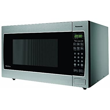 Panasonic NN-SN973S Stainless 2.2 Cu. Ft. Countertop/Built-In Microwave with Inverter Technology