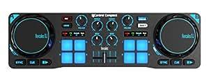 DJ Hercules DJ Control Compact - Controlador de DJ de doble deck, color negro