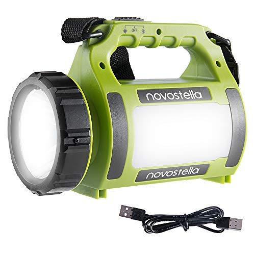 NOVOSTELLA Ustellar Rechargeable CREE LED Torch, Multi-functional Camping Light,...