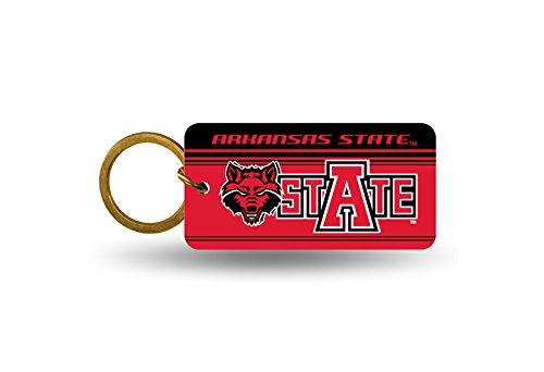 Rico NCAA Arkansas State Crystal View Keychain, 4 x 3, Logo Color