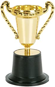 """RINCO Educational Products 5"""" Plastic Gold Trophy (12"""