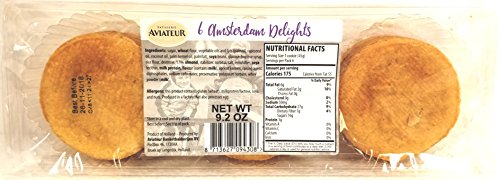 (Aviateur Amsterdam Delight 6 Cookies Per Pack of 9.2 oz (Pack of)